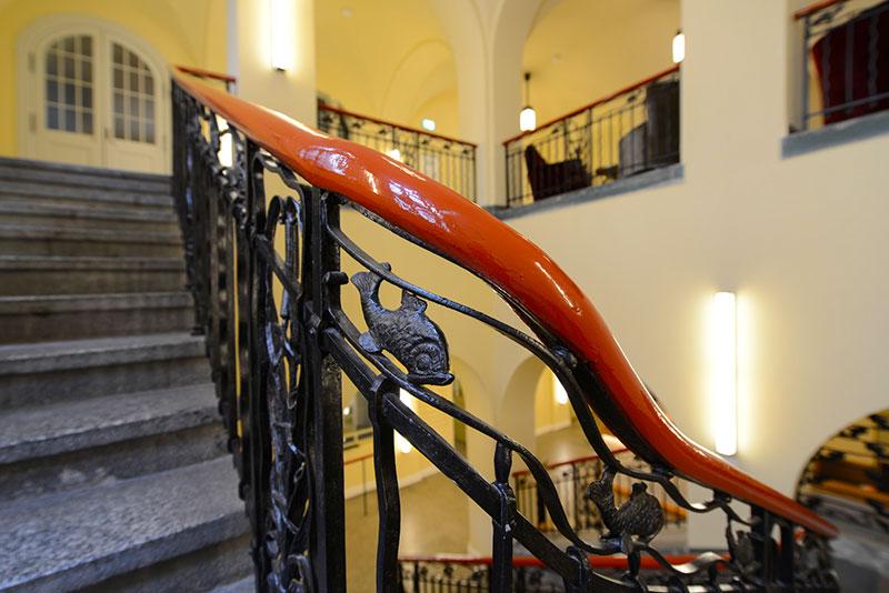 Treppe hotel oderberger