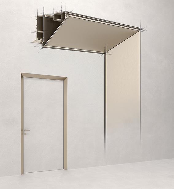 Design-Türdrücker ECLISSE 40