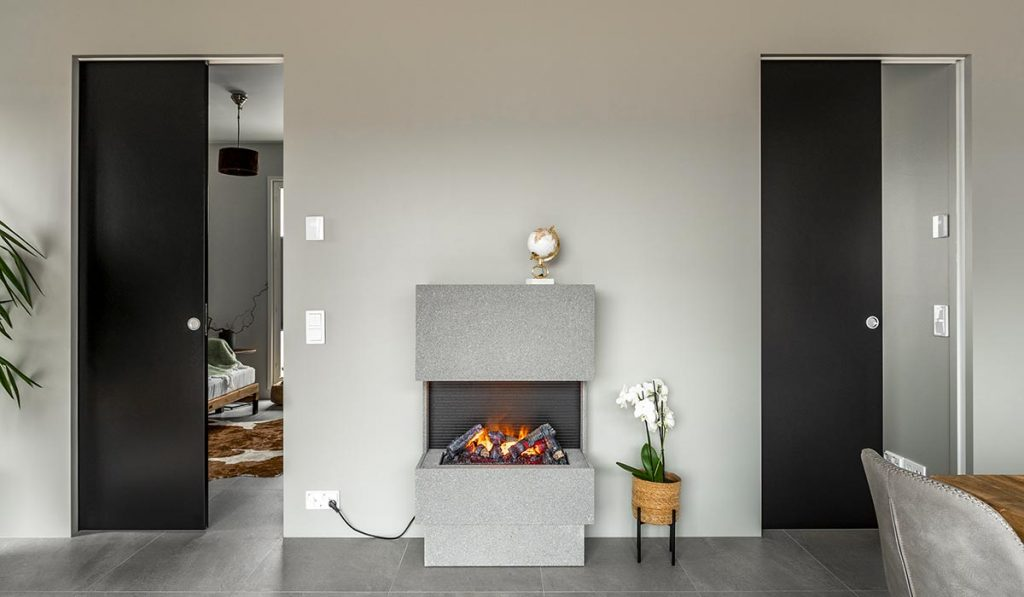 Schiebertür Raumteiler - Stilvoller Übergang zwischen zwei Räumen